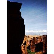 Rock Climbing Photo: #5 Bootleg Tower w/ Matt C.- technically this rout...