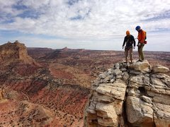 Rock Climbing Photo: #7 Karma's Castle w/ Eric, Tanner, and Chris. Such...