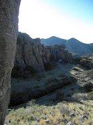 Rock Climbing Photo: Luna Park campground