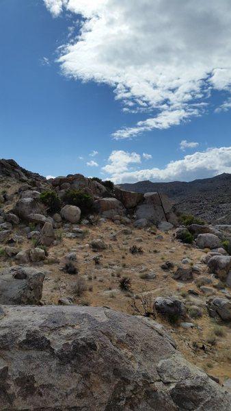 Rock Climbing Photo: Last Train
