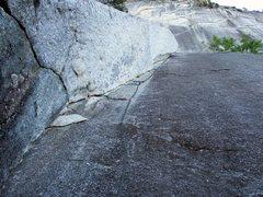 Rock Climbing Photo: Pitch 2 of Apron Strings.