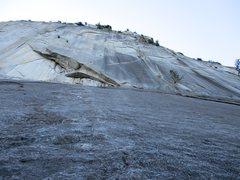 Rock Climbing Photo: Pitch 1 of Merci Me.