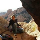 Rock Climbing Photo: Summit- Mystery, Cochise Stronghold