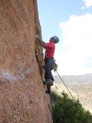 Rock Climbing Photo: Enjoying the solitude of the Waco Wall.