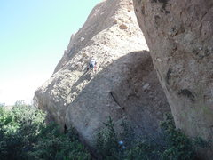 Rock Climbing Photo: The view from the Waco Wall.