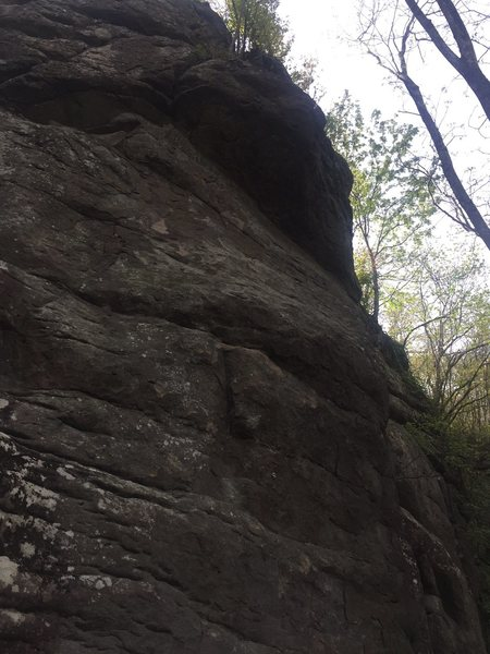 Rock Climbing Photo: A look at The Hand.