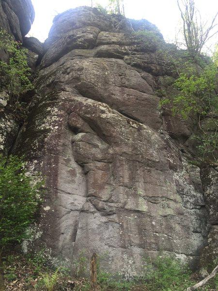 Rock Climbing Photo: Vintage.