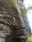 Rock Climbing Photo: Snake Gut Bottom