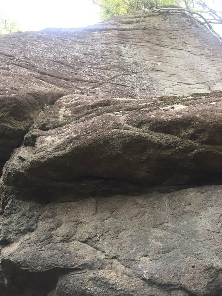 Rock Climbing Photo: A Great Blow.