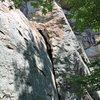 Base of the climb