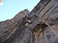 Rock Climbing Photo: Murphy making us proud on pitch 5, one of the more...