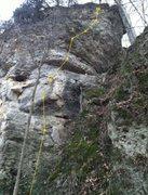 Rock Climbing Photo: Flying Buttress - east face