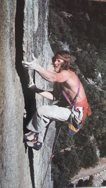 Rock Climbing Photo: John Yoblonsky