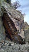 Rock Climbing Photo: Arrowhead Arete, full view.