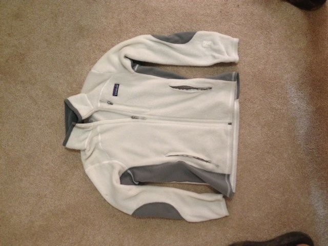 Rock Climbing Photo: Patagonia R2, Size S $80 White