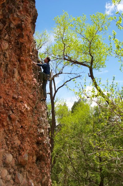 Rock Climbing Photo: Spring at the LRW. Lots of green. May 2016.