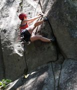 Rock Climbing Photo: Just one of the many ways to climb the bulge.
