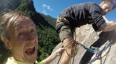 Rock Climbing Photo: Christian Storms and Danny Clayton. Danny's first ...