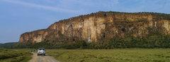 Rock Climbing Photo: The Main Wall - several dozen lines all along the ...
