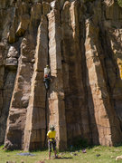 Rock Climbing Photo: Entrance area cracks are great training - most hav...