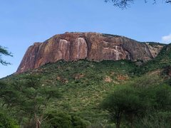 Rock Climbing Photo: Big, bad Ololokwe