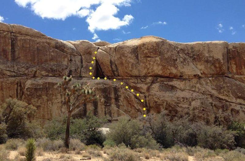 Rock Climbing Photo: Deceptive Corner