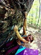 Rock Climbing Photo: Sidecling, V7