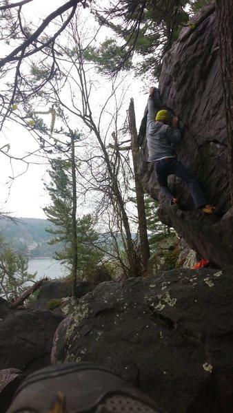 Amazing climb!