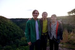 Rock Climbing Photo: After a fun day full of sends in the Canyon.