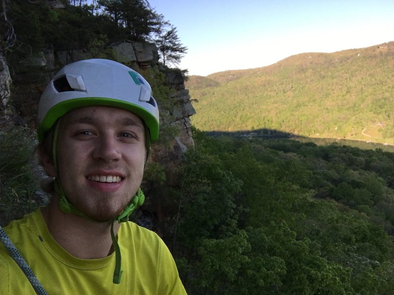 Rock Climbing Photo: Picture from the top of Razor Worm 8+ at T-Wall.