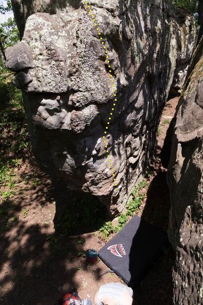 Rock Climbing Photo: Razzle Dazzle.