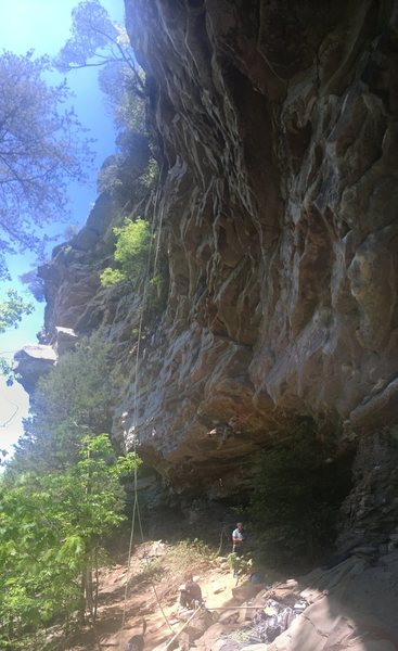 Another shot of Toomsuba...really shows how steep the walls are in the Canyon!