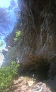 Rock Climbing Photo: Another shot of Toomsuba...really shows how steep ...