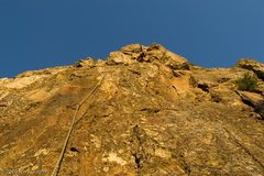 Rock Climbing Photo: Utopia - entering the crux zone