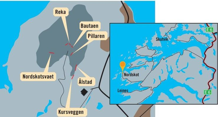 Map over area
