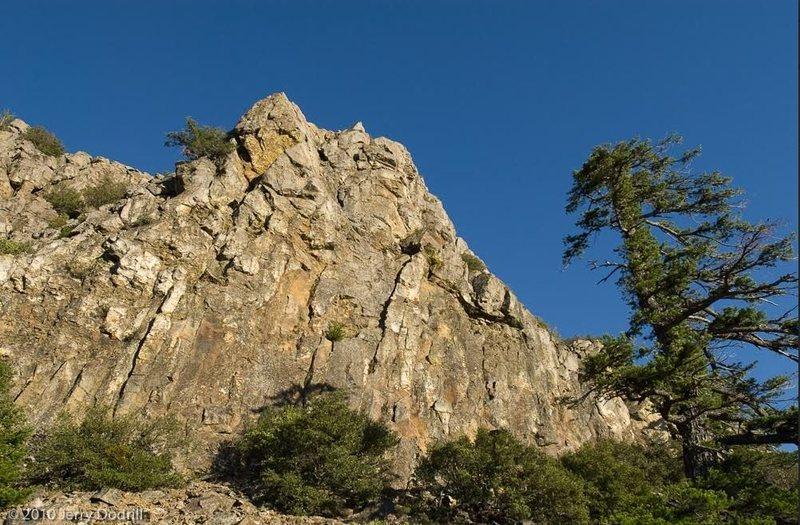 Macondo cliff