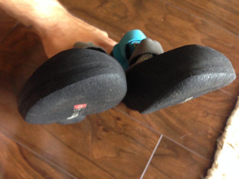 Crisp toes!