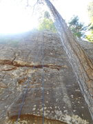 Rock Climbing Photo: One very fun sequence that continues through the f...
