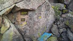 Rock Climbing Photo: Low Hanging Melons, V2.