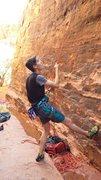 Rock Climbing Photo: Belaying the cel