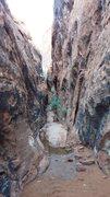 Rock Climbing Photo: Lower level of the corridor