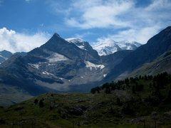 Rock Climbing Photo: Views towards Italy and Piz Bernina from Lagalb