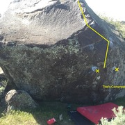 Rock Climbing Photo: That's Compressive