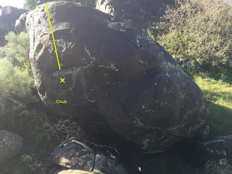 Rock Climbing Photo: Chub