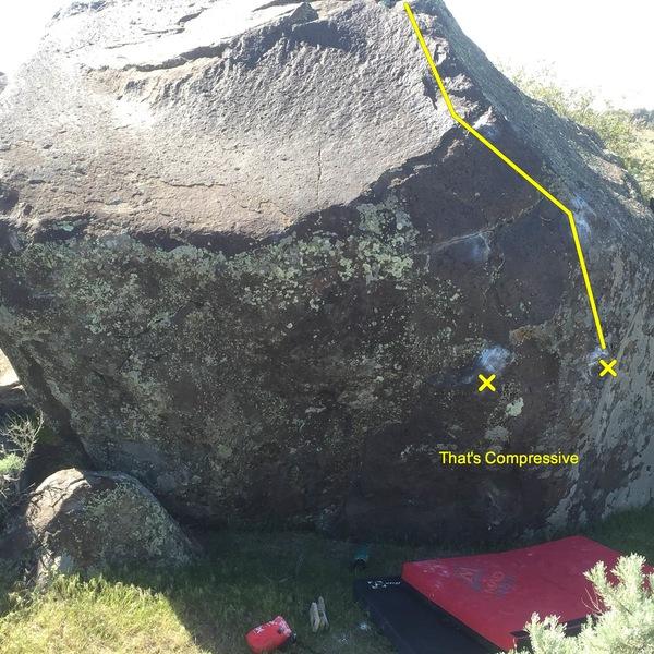 Rock Climbing Photo: That's Compressive