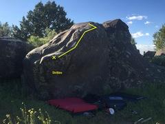 Rock Climbing Photo: Skittles
