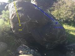 Rock Climbing Photo: Chub Boulder : Chub  2 Minute Man