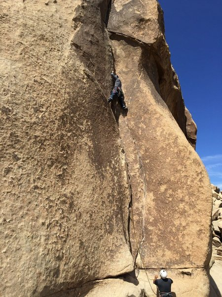 Rock Climbing Photo: Leading Touch and Go
