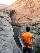 Rock Climbing Photo: Fun little climb. Felt easier then 5.7