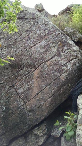 Rock Climbing Photo: Finger Ladder, Farthest Right of High Gravity.